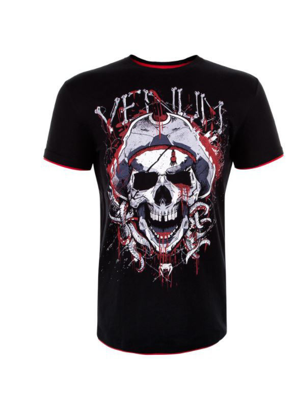 Футболка Venum Футболка Venum Pirate 3.0 Black/Red футболка venum venum mp002xm20hnf