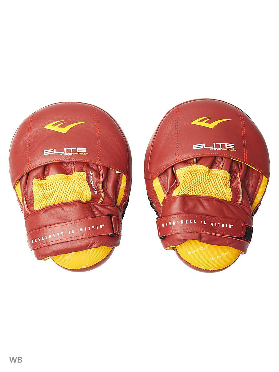 Лапы Everlast Лапы Pro Elite Leather Mantis