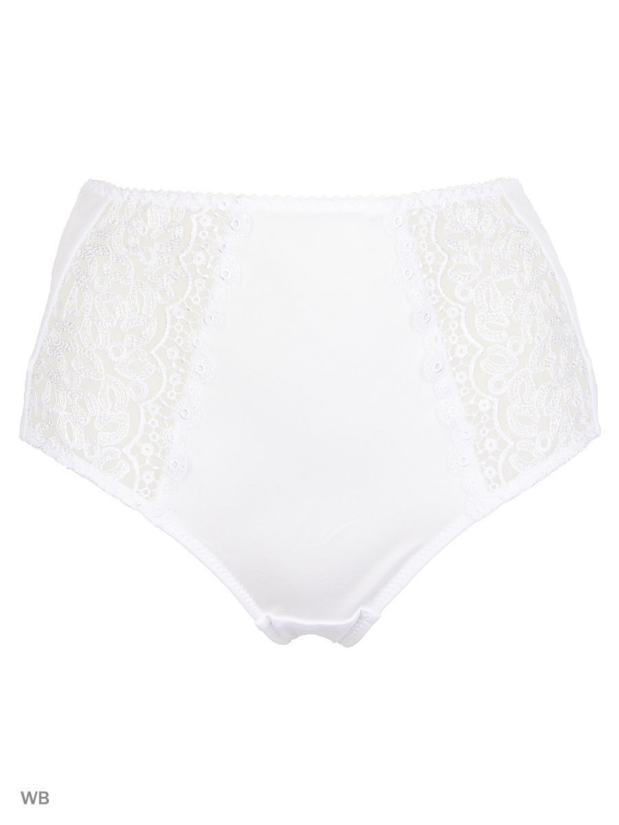 Женские трусы Krisline BETTY_BRIEFSMIDI/WHITE