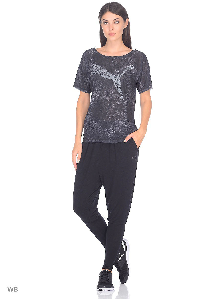 Футболка PUMA Футболка Dancer Drapey Tee брюки transition drapey pants w