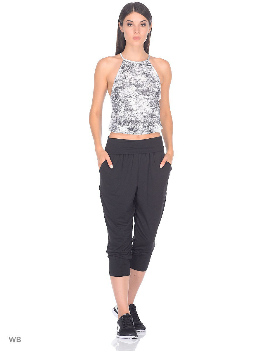 Бриджи PUMA Бриджи Dancer Drapey Capri брюки transition drapey pants w