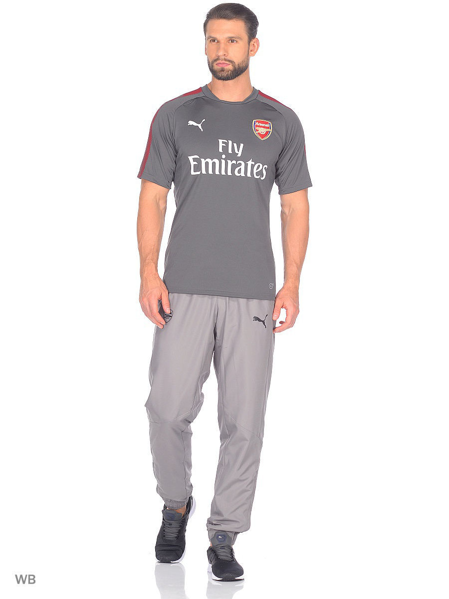 Футболка PUMA Футболка AFC Training Jersey with Sponsor брюки puma брюки afc training pant tapered
