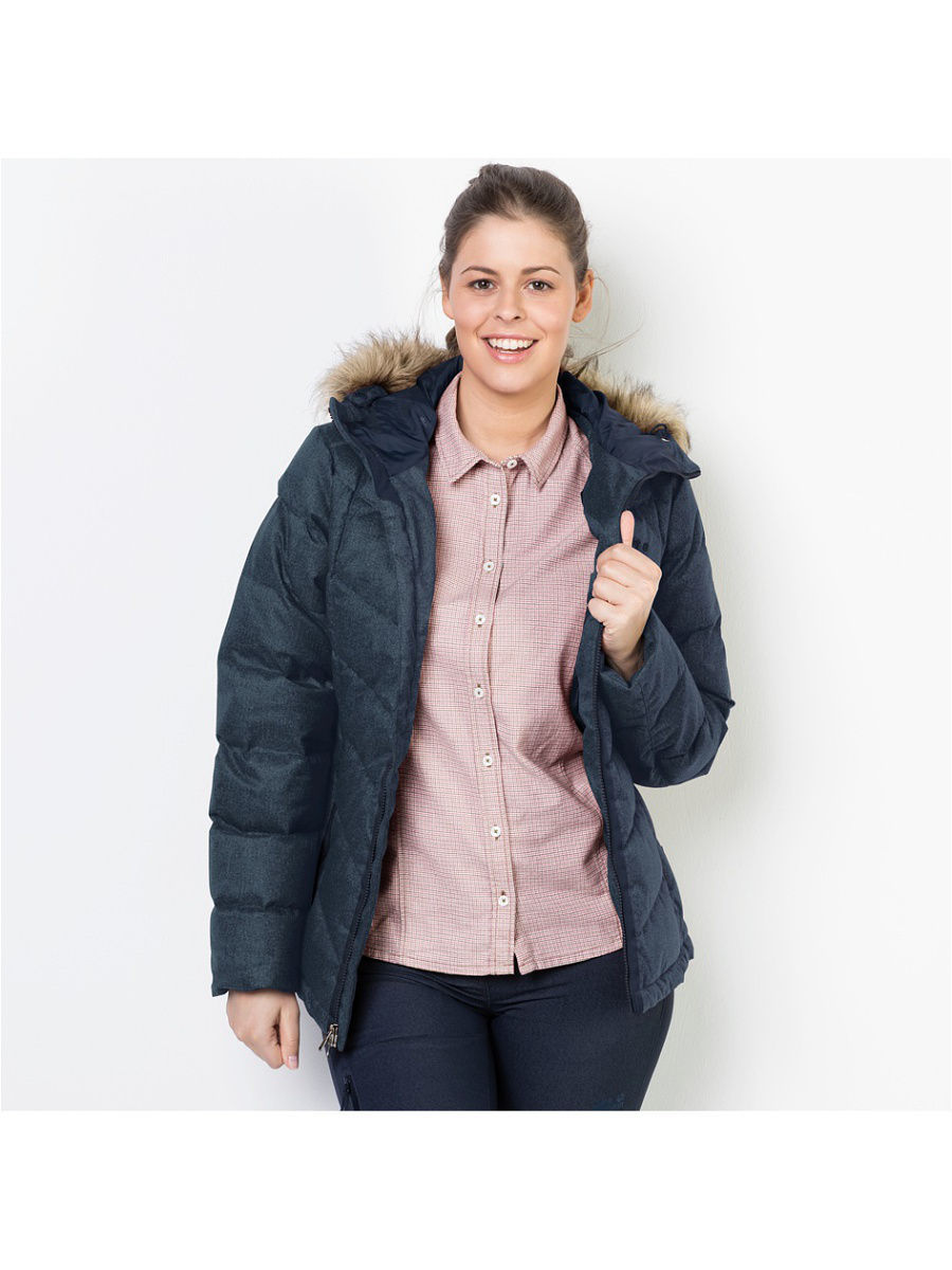 Пуховики Jack Wolfskin Пуховик BAFFIN BAY JACKET WOMEN ветровки mayoral ветровка