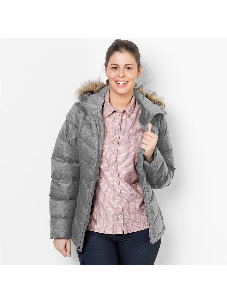цена  Пуховики Jack Wolfskin Пуховик BAFFIN BAY JACKET WOMEN  онлайн в 2017 году