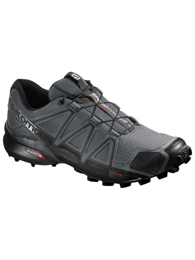 Кроссовки SALOMON Кроссовки SHOES SPEEDCROSS 4 DARK CLOUD/BLACK/GY кроссовки salomon кроссовки shoes xa lite bk quiet shad imperial b