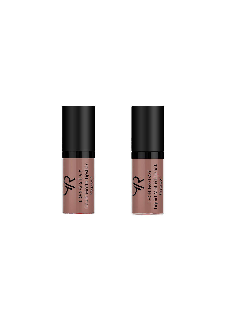 Помады Golden Rose.. Жидкая помада Mini Longstay liquid matte lipstick 2 штуки. Тон 24 помады golden rose жидкая помада mini longstay liquid matte lipstick 2 штуки тон 04