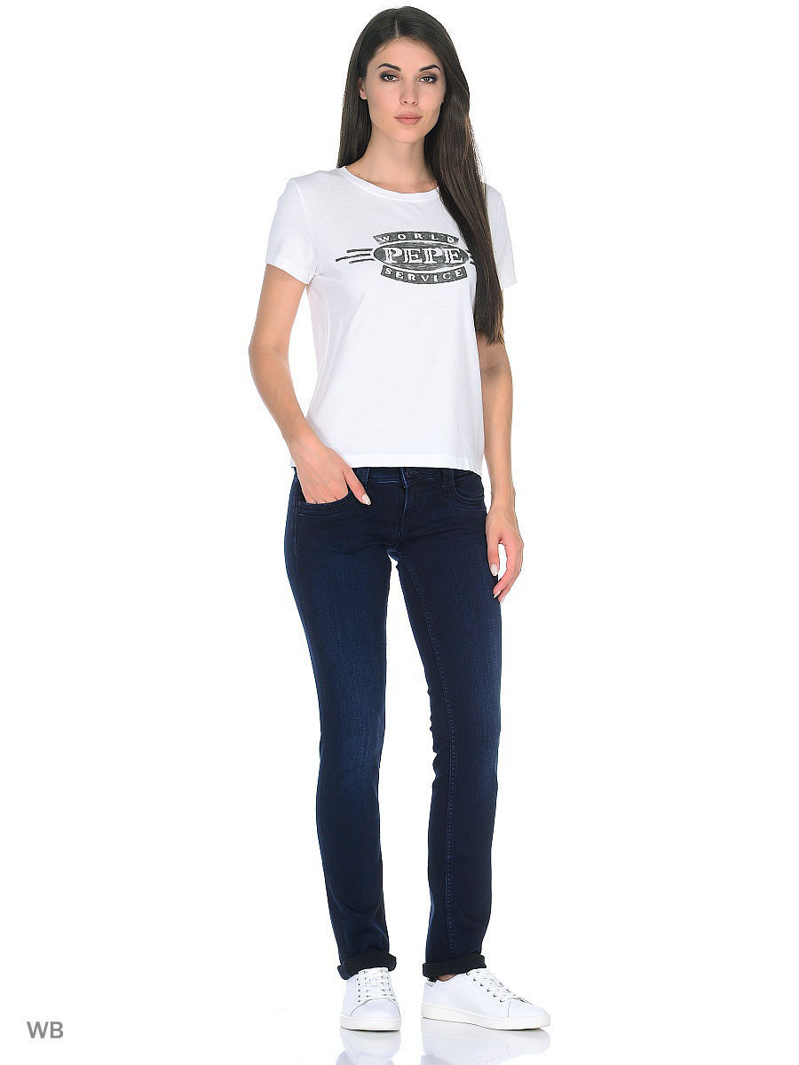 Футболка Pepe Jeans London PL502754/800WHITE