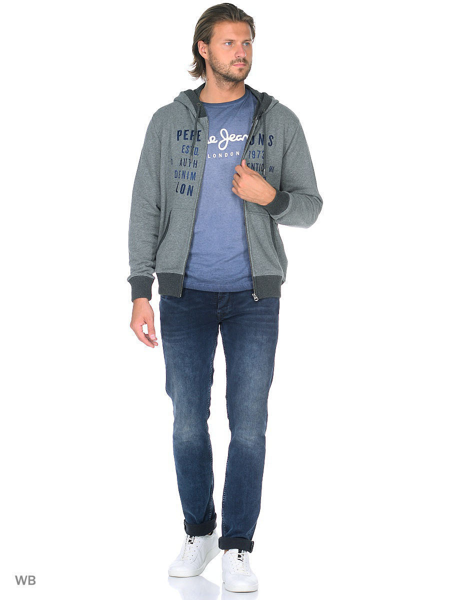 Толстовка Pepe Jeans London PM581094/933GREYMARL