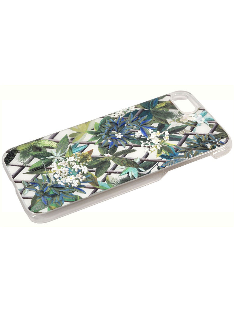Чехлы для телефонов Christian Lacroix Чехол Lacroix для iPhone 7 CANOPY Hard Malachite (White)