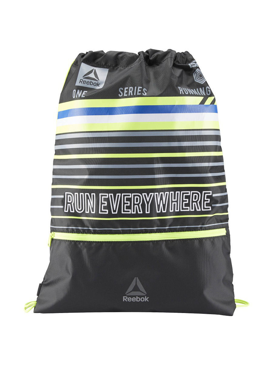 Сумка RUN GYMSACK BLACK