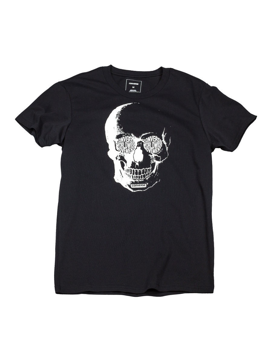 Футболка Converse Футболка Van De Wall Skull Tee футболка converse футболка amt streaming color skull tee