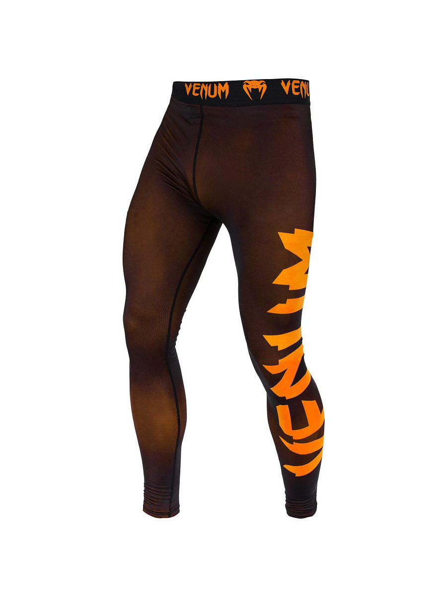 Тайтсы Venum Тайтсы Venum Giant Black/Orange тайтсы venum компрессионные тайтсы zombie return black