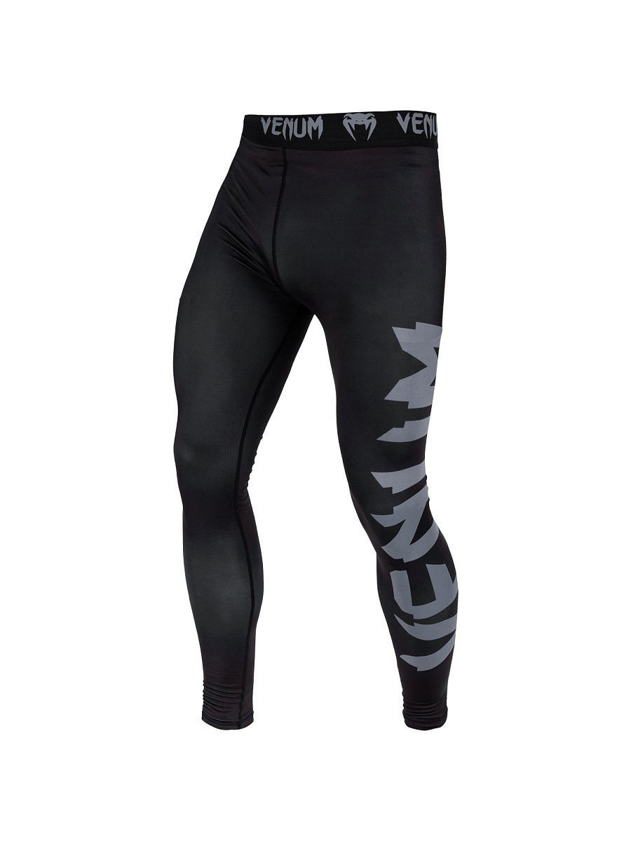 Тайтсы Venum Тайтсы Giant Black/Grey тайтсы venum компрессионные тайтсы zombie return black
