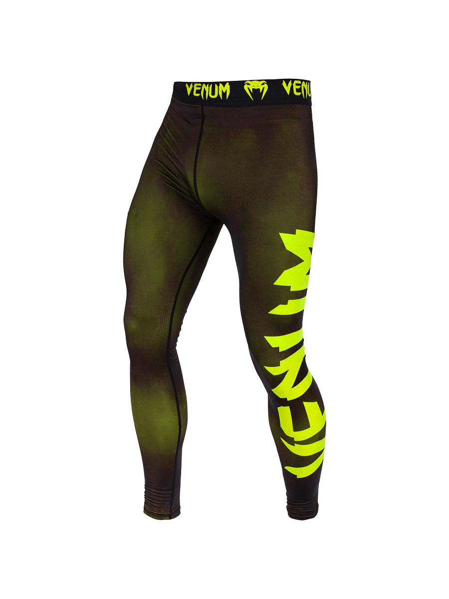 Тайтсы Venum Тайтсы Venum Giant Black/Yellow тайтсы venum компрессионные тайтсы zombie return black