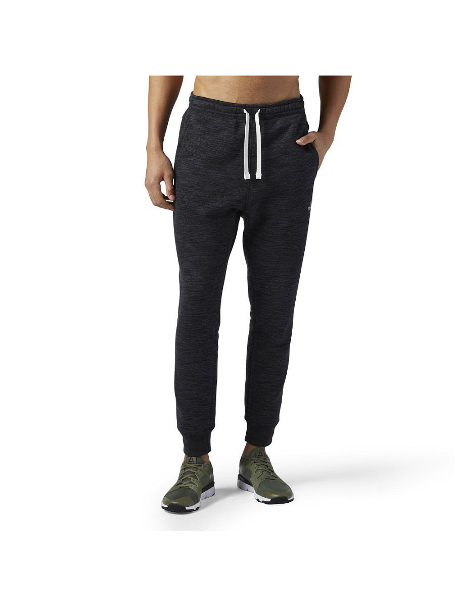 Брюки Reebok Брюки EL PRIME GROUP PANT BLACK брюки puma брюки ftbltrg pant