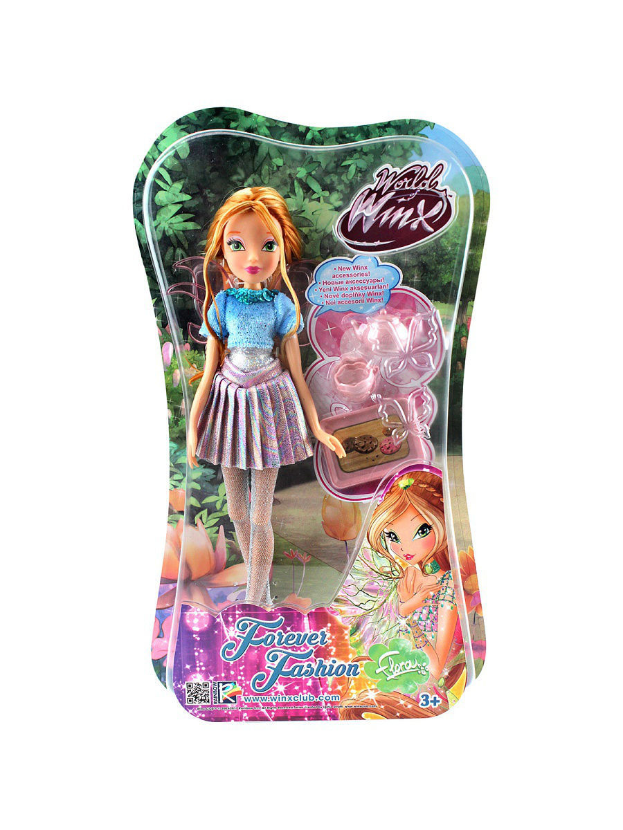 Куклы WINX Кукла Winx Club WOW Лофт Флора winx club кукла флора magic flowers winx club