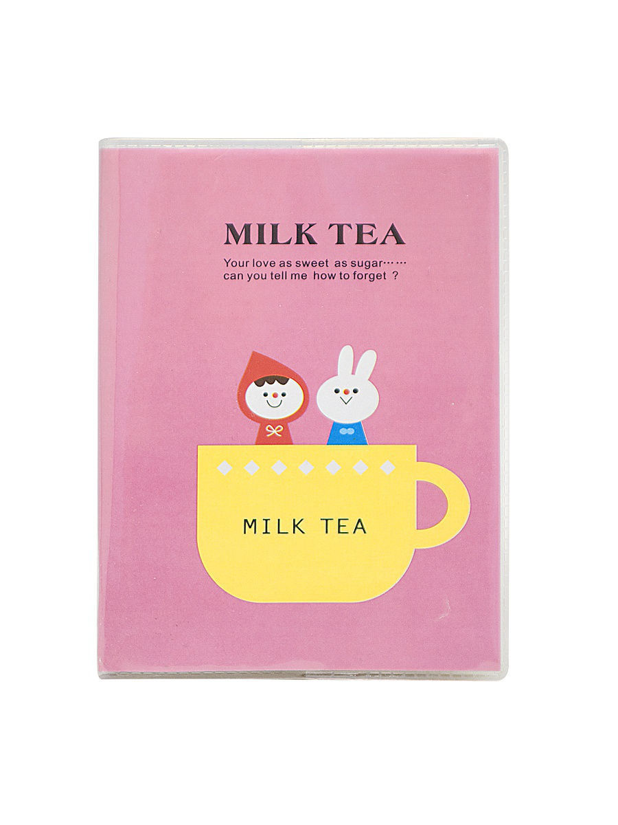 Блокноты Kawaii Factory Блокнот Milk Tea (маджента)