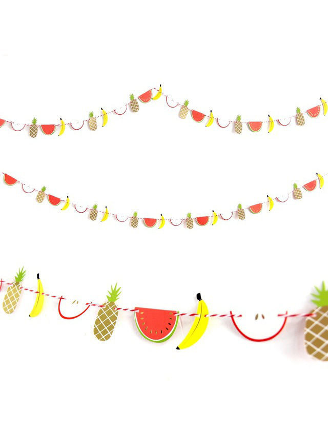 Гирлянды Kawaii Factory Гирлянда Fruits kawaii fresh summer fruits banana