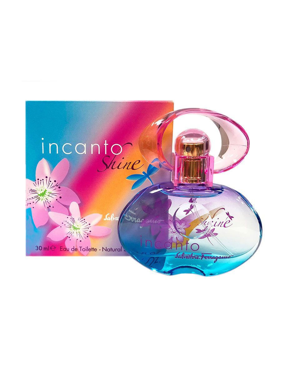 цена Туалетная вода Salvatore Ferragamo Salvatore Ferragamo Incanto Shine 30 ml EDT онлайн в 2017 году
