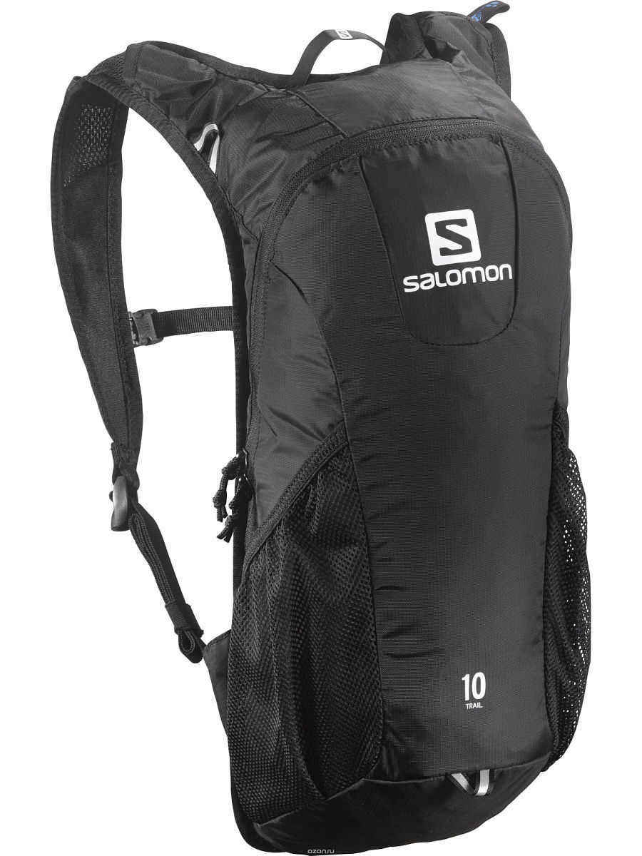 Рюкзаки SALOMON Рюкзак BAG TRAIL 10 BLACK рюкзак salomon salomon trail 20 galet светло зеленый 20л