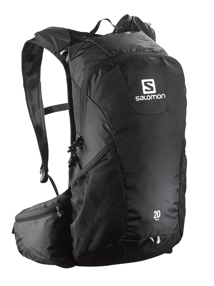 Рюкзаки SALOMON Рюкзак BAG TRAIL 20 BLACK рюкзак salomon salomon sa007buhcf46