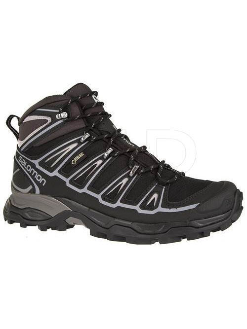 Ботинки SALOMON Ботинки SHOES X ULTRA MID 2 SPIKES GTX BK/BK/AL  salomon salomon x ultra mid 2 gtx женские