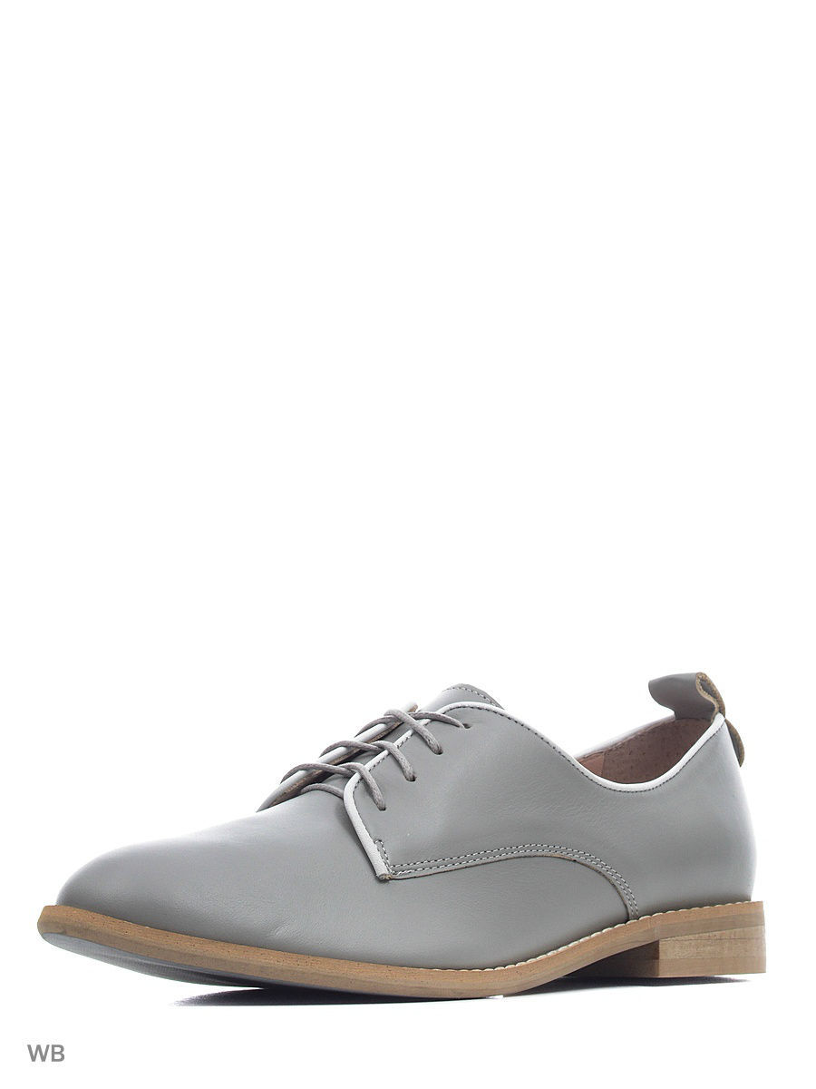 Туфли на каблуке Gretchen GRT-OXF-G15-S25S25-36/gray/white