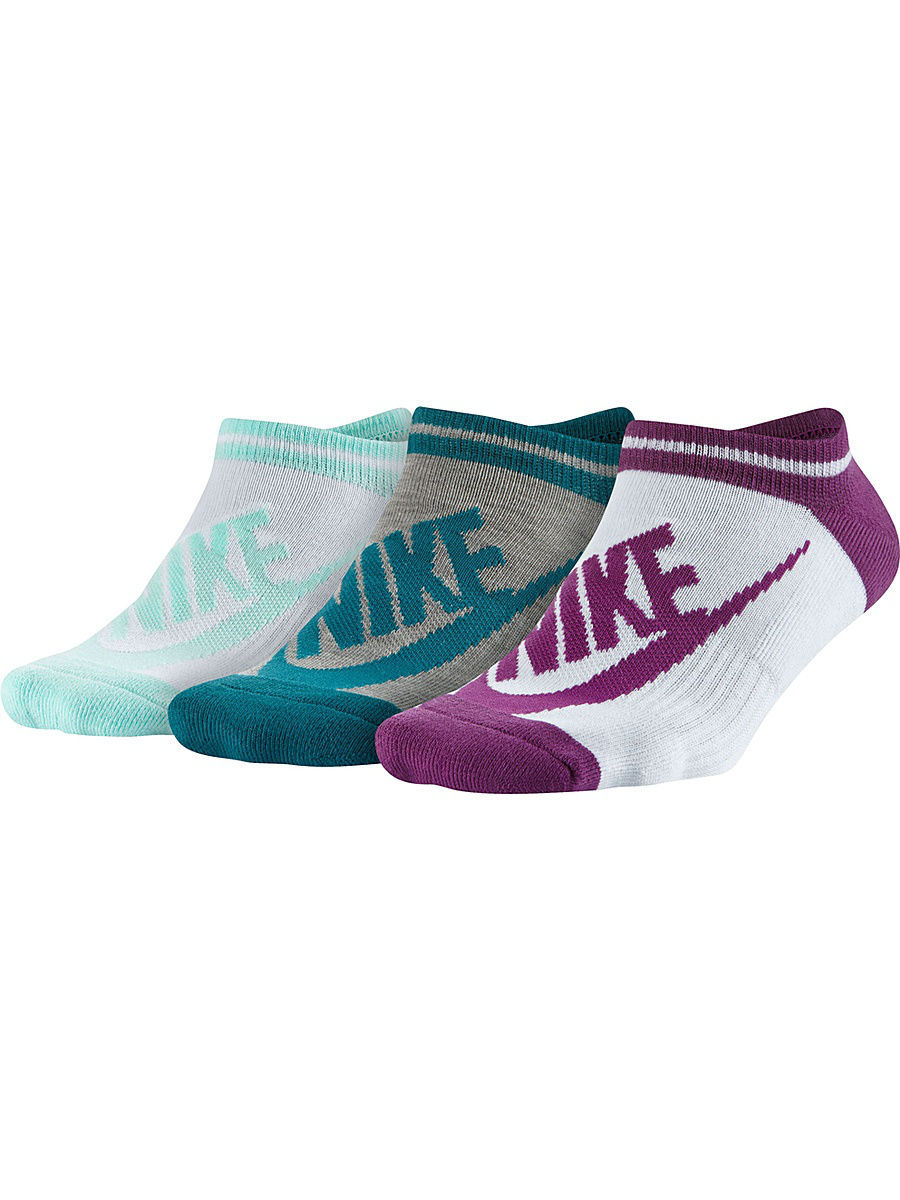 Носки Nike Носки NSW WOMENS -3PPK STRIPED NO SH nike носки nsw waffle quarter