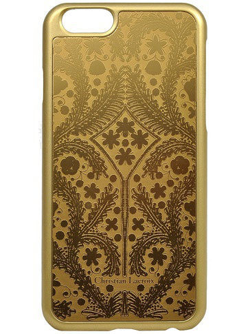 Чехлы для телефонов Christian Lacroix Чехол Lacroix для iPhone 6/6S Paseo metal Hard Gold