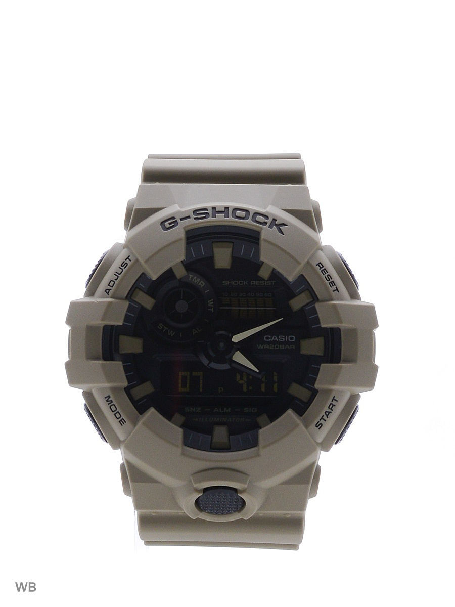 Часы наручные CASIO Часы G-Shock GA-700UC-5A [sa]2mm yellow blue color black and red banana plug test head soft leather gold plated connectors a 1007 wire bonders 100pcs l