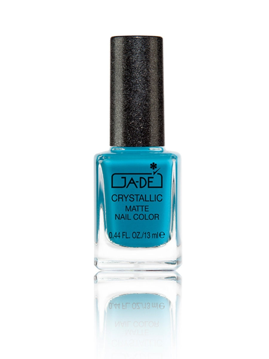 Лаки для ногтей GA-DE Лак для ногтей CRYSTALLIC MATTE No.58 TEAL SUGAR real sugar лак