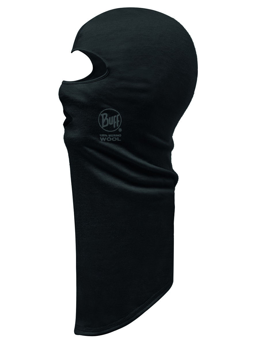 Балаклавы Buff Балаклава MERINO WOOL BALACLAVA BUFF BLACK снуд buff buff bu023guomi09