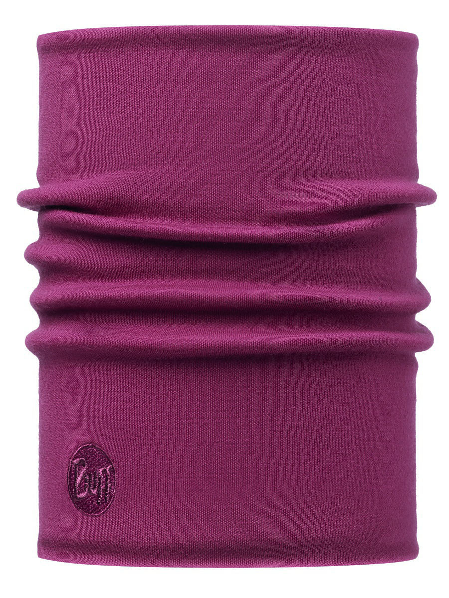 Банданы Buff Бандана HEAVYWEIGHT MERINO WOOL NECKWARMER SOLID TIBETAN RED снуд buff buff bu023guomi09
