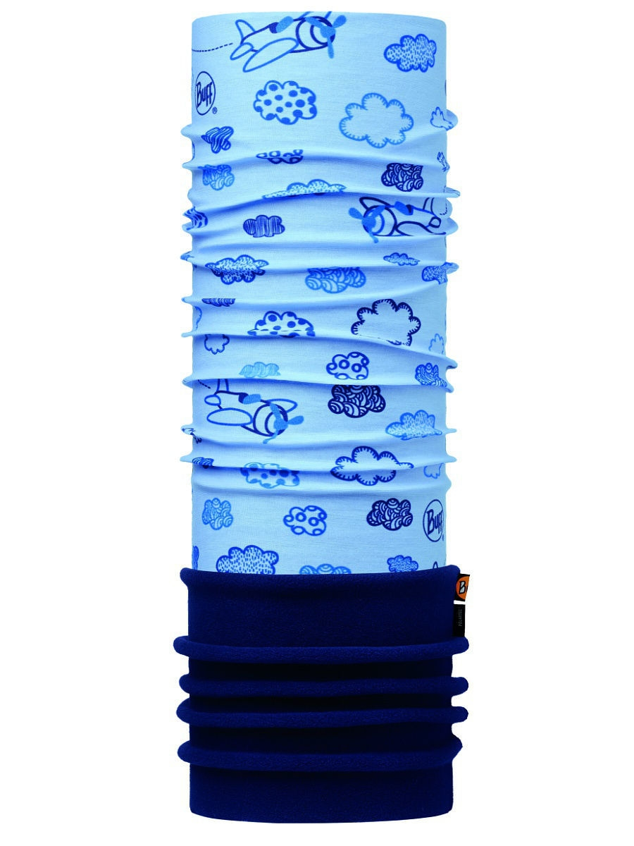 Банданы Buff Бандана BABY POLAR CLOUDS BLUE / NAVY снуд buff buff bu023guomi09