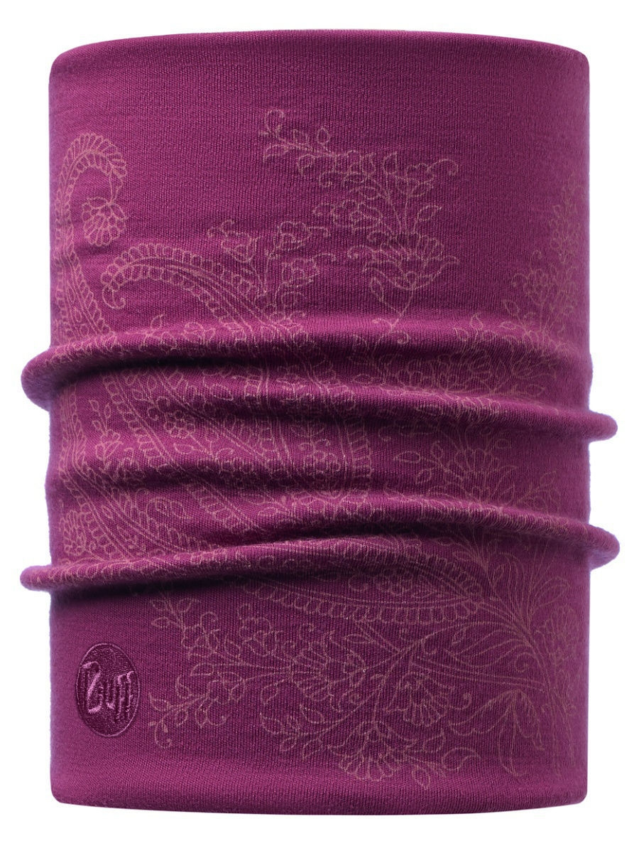 Банданы Buff Бандана HEAVYWEIGHT MERINO WOOL NECKWARMER SHAMY TIBETAN RED снуд buff buff bu023guomi09