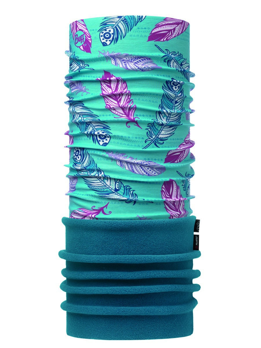 Банданы Buff Бандана POLAR JUNIOR FEATHERS POOL  OL / OCEAN buff бандана junior original