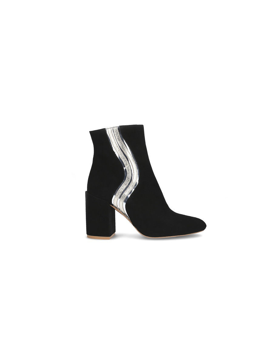 Полусапоги Gretchen GRT-WLJ001/black/silver/gold