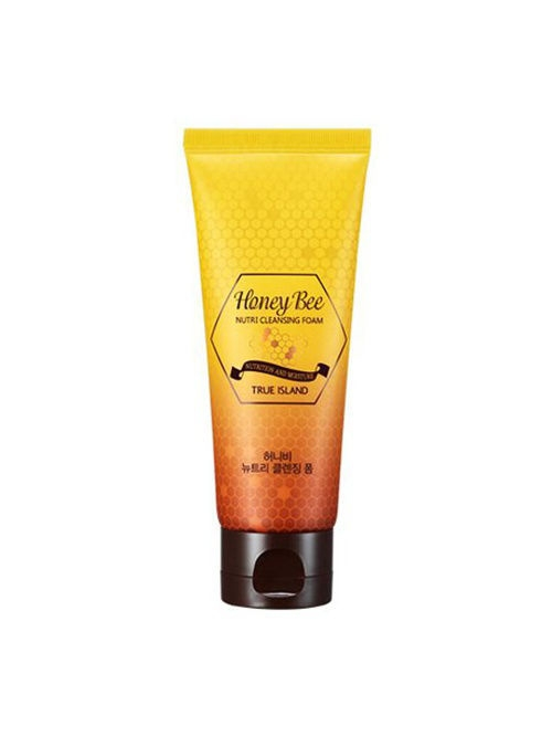 Пенки TRUE ISLAND Питательная очищающая пенка TRUE ISLAND HONEY BEE NUTRI CLEANSING FOAM river island ri004cwmxv70