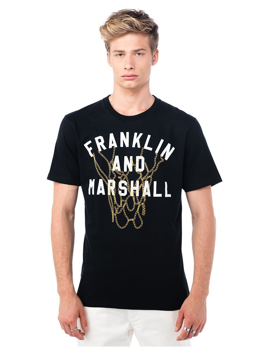Футболка FRANKLIN AND MARSHALL Футболка franklin & marshall fr949emvga84 franklin & marshall
