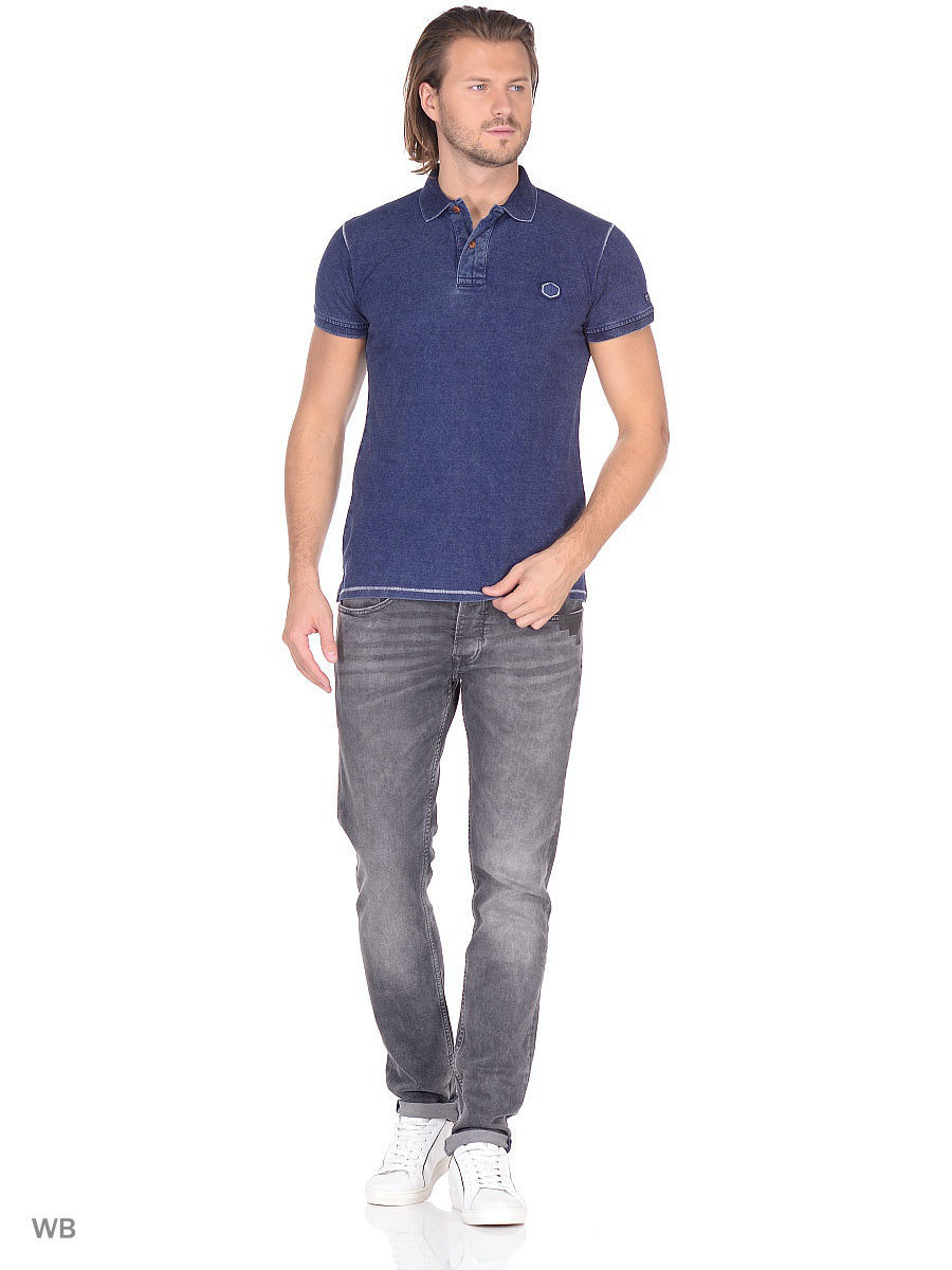 Мужские поло Pepe Jeans London PM540971/561INDIGO