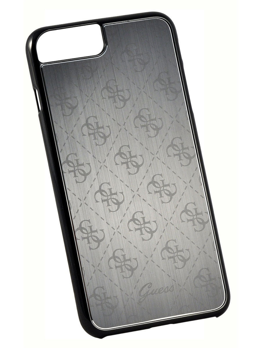 Чехлы для телефонов GUESS Чехол Guess для iPhone 7 Plus 4G Aluminium plate Hard Black guess gu460dwhlf92