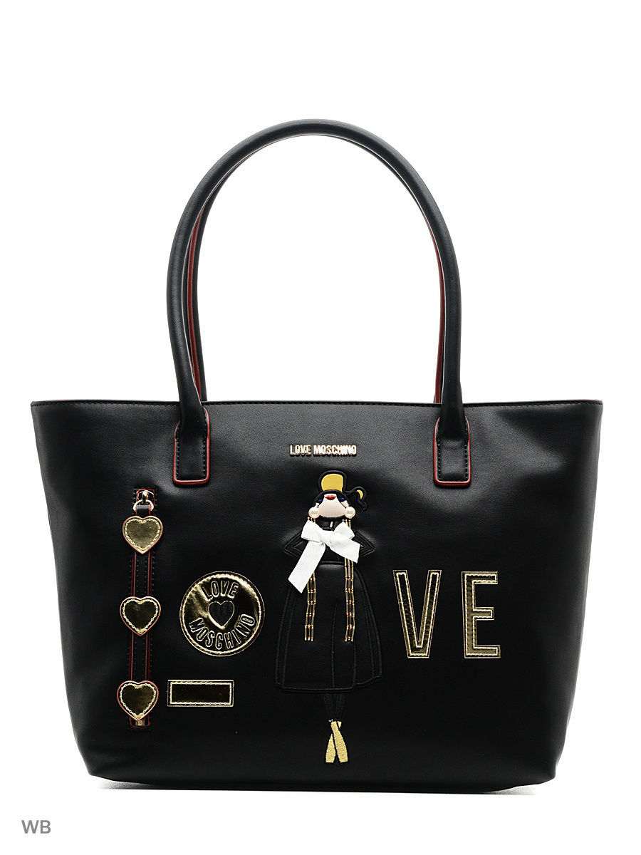 Большая сумка Love Moschino JC4302PP04KM0000BLACK