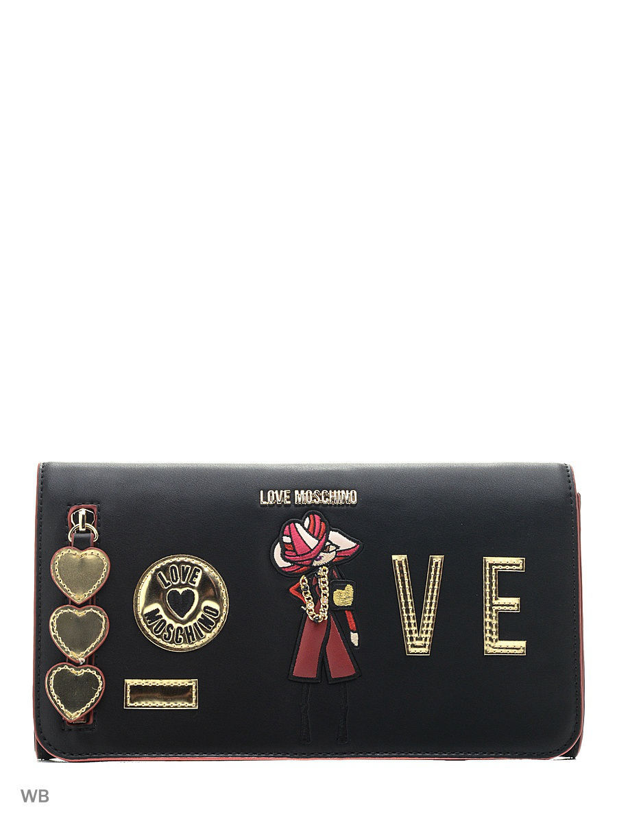 Большая сумка Love Moschino JC4306PP04KM0000BLACK