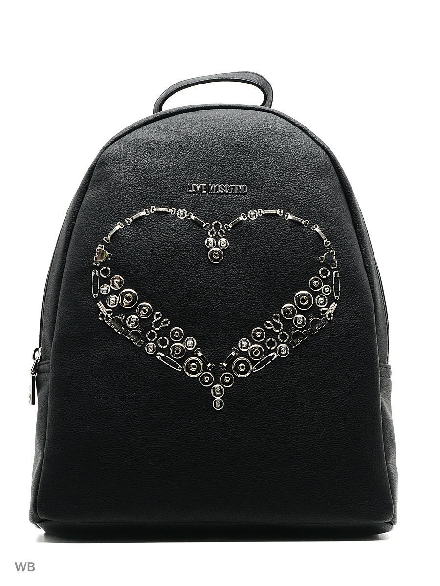 Рюкзак Love Moschino JC4329PP04KR0000BLACK