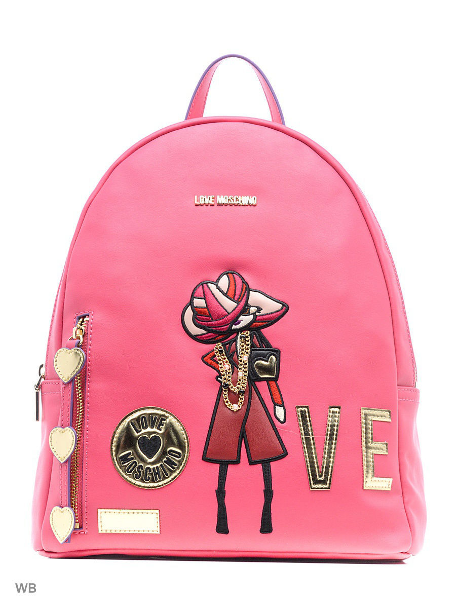Рюкзак Love Moschino JC4303PP04KM0604FUXIA