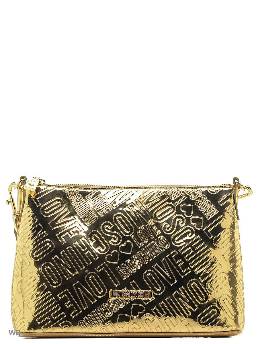 Большая сумка Love Moschino JC4235PP04KD0901GOLD