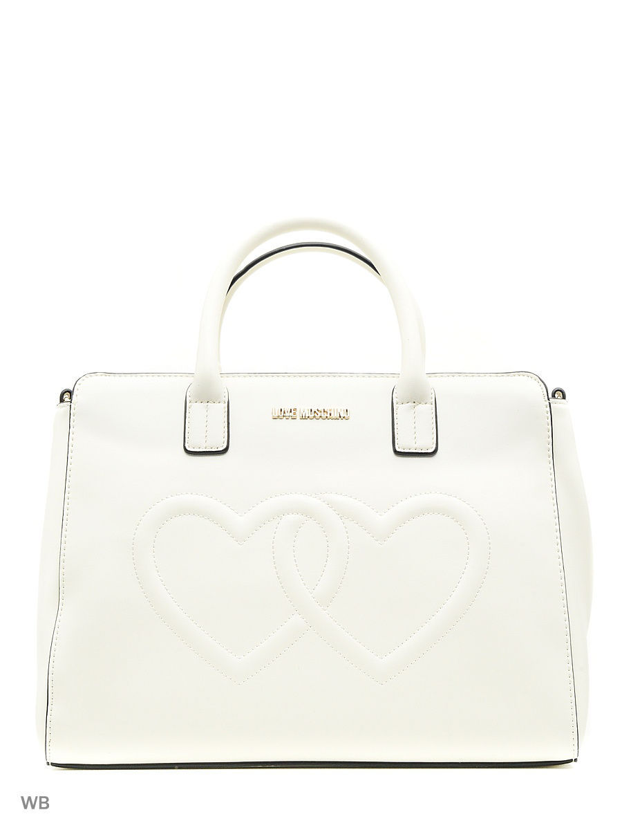 Большая сумка Love Moschino JC4294PP04KK0110IVORY