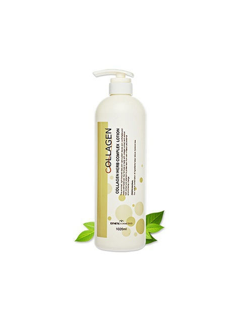 Лосьоны ESTHETIC HOUSE Esthetic house Лосьон для лица с коллаген и растит экстракт COLLAGEN HERB COMPLEX LOTION, 1000 мл face lotion alpha complex