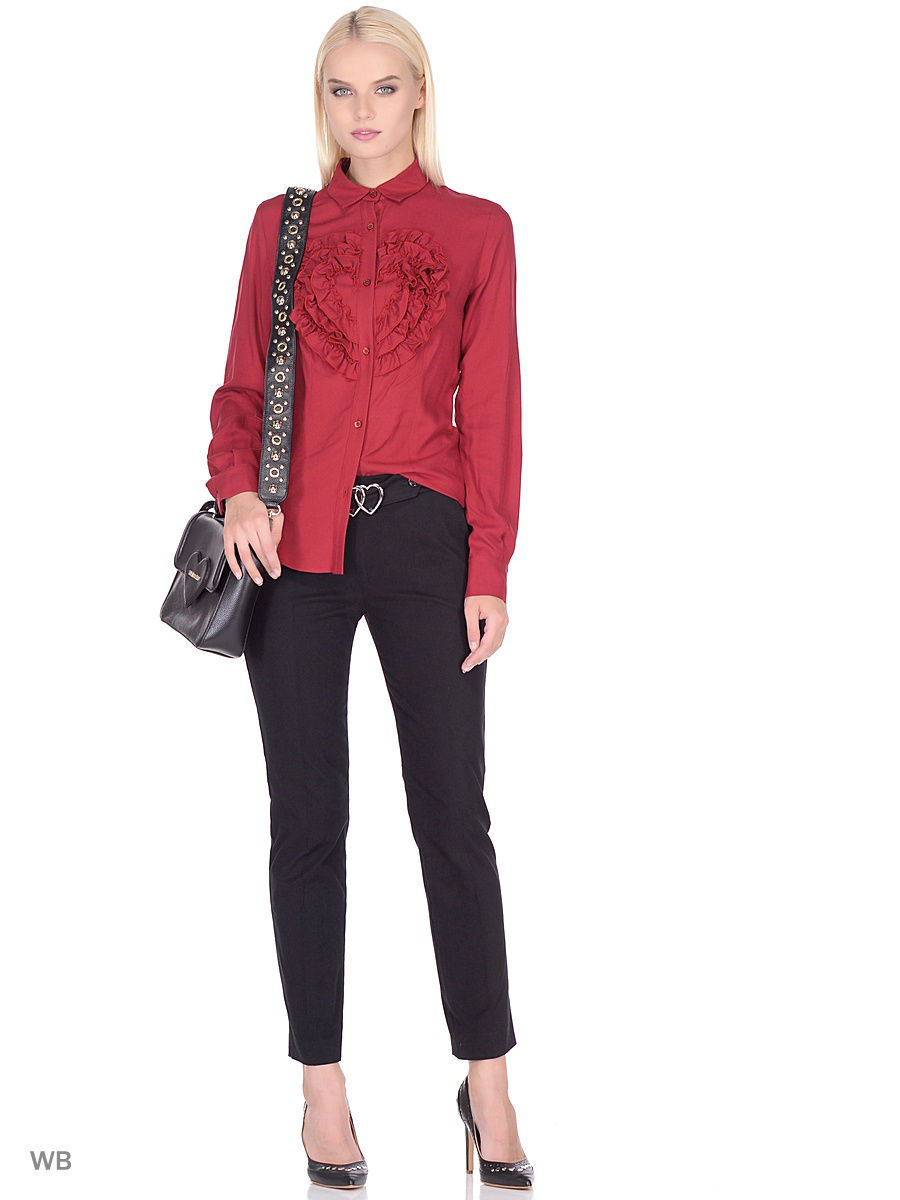 Блуза Love Moschino WCC4500T9168P13RED
