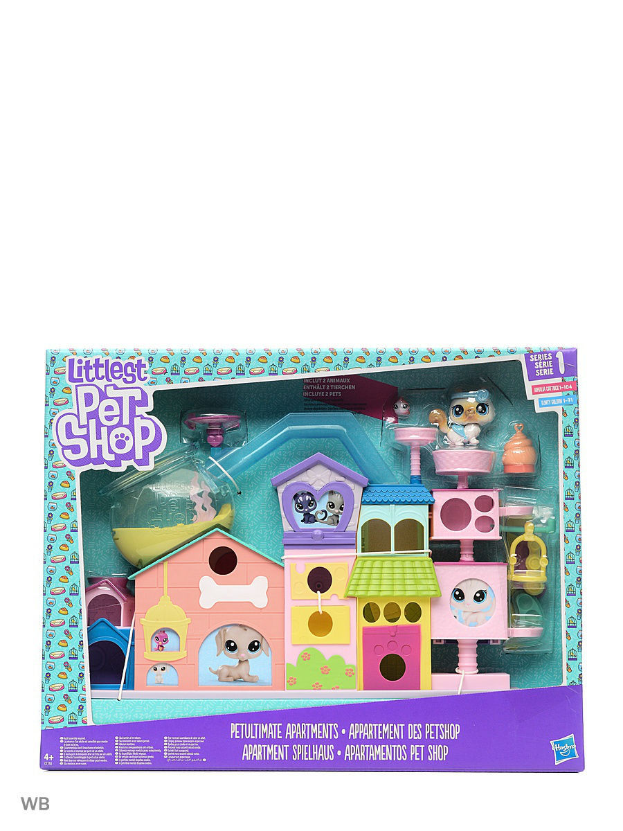 Игровые наборы Littlest Pet Shop Лпс апартаменты для петов наволочки декоративные рапира гобеленовая наволочка кораблики 32х82 см
